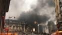 Incendie Gare de Lyon.