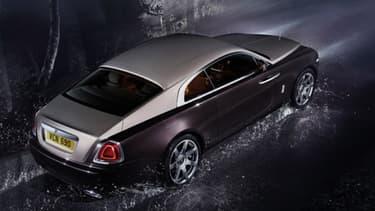 Le nouveau coupé de Rolls-Royce sera commercialisé à partir d'octobre.