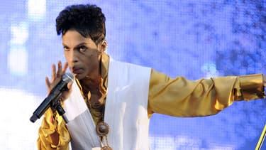 Prince au Stade de France le 30 juin 2011.