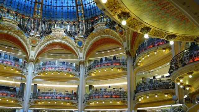 Les Galeries Lafayette tablent sur des ventes en hausse de 5 à 10% grâce à l'ouverture le dimanche.