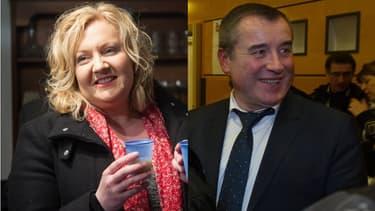 Sophie Montel, candidate FN, affrontera Frédéric Barbier, candidat PS, au second tour de la législative partielle du Doubs.