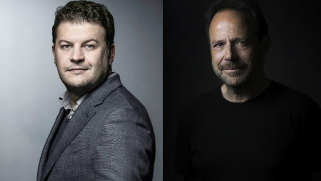 Guillaume Musso et Marc Lévy