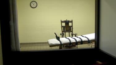 Une salle de mise à mort dans l'Ohio, en août 2001.