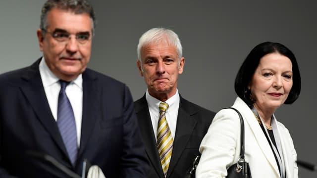 Christine Hohmann-Dennhardt (à droite) quitte Volkswagen.