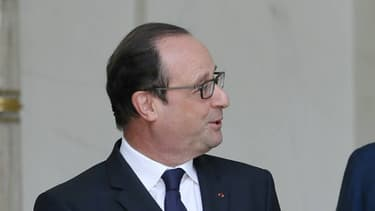 François Hollande et Manuel Valls à l'Elysée le 16 juillet 2014.