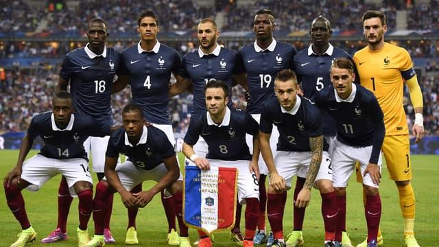 Les 11 Bleus titulaires contre l'Espagne en septembre 2014