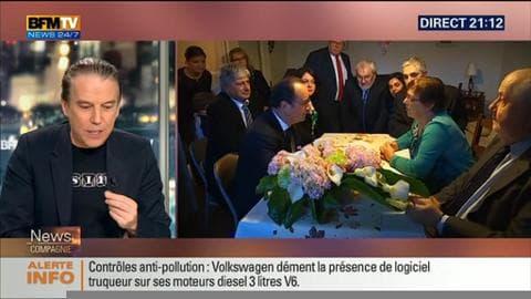 """François Hollande chez Lucette Brochet: """"Cette visite sonne faux, c'est totalement contre-productif"""", Philippe Vandel"""
