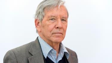 L'auteur israélien Amos Oz, le 14 mars 2013 à Leipzig, en Allemagne