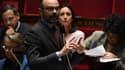 Le Premier ministre Édouard Philippe à l'Assemblée nationale le 30 janvier 2019