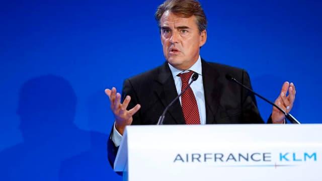 Alexandre de Juniac prévoit pour le moment une année 2014 dans le vert.