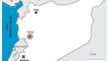 L'ARMÉE SYRIENNE BOMBARDE UN QUARTIER DE HOMS, SELON UN MILITANT
