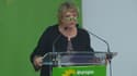 Eva Joly, lors du congrès fédéral d'EELV, a appelé à une opération mains propres.
