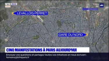 Paris: cinq manifestations autorisées par la préfecture de police ce samedi
