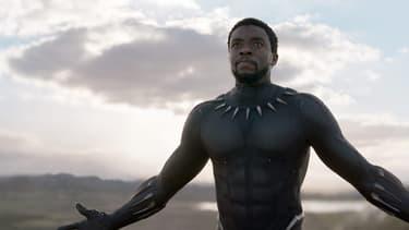 """Chadwick Boseman dans """"Black Panther"""""""