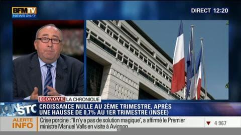 L'économie française a stagné au 2ème trimestre