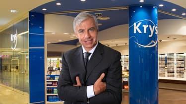 Jean-Pierre Champion, qui dirige la coopérative Krys depuis 2012, veut plus de concurrence pour faire baisser les prix.