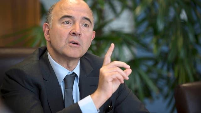 Pierre Moscovici était l'invité de BFM Business.