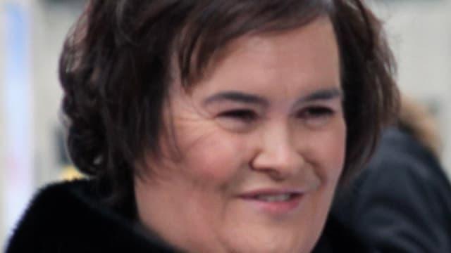 Susan Boyle retrouve ses parents à travers sa maison d'enfance