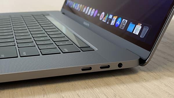 Le MacBook Pro 16 pouces d'Apple