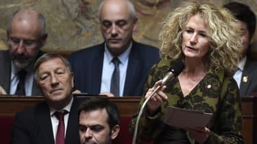 La députée LaREM Martine Wonner à l'Assemblée nationale.