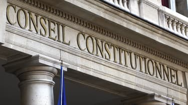 La façade du Conseil constitutionnel, à Paris.