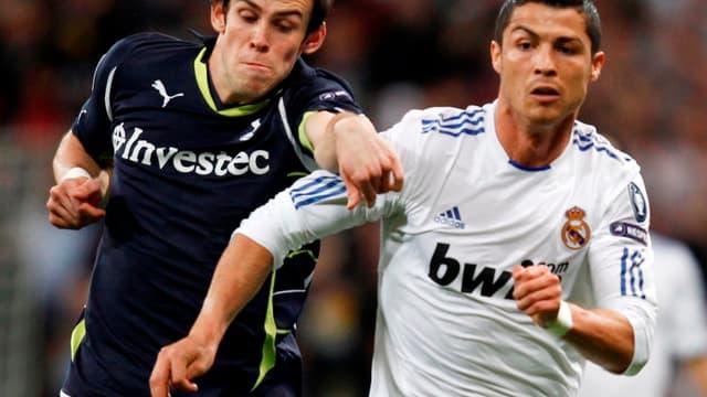 Gareth Bale et Cristiano Ronaldo