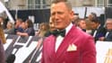 """Daniel Craig à l'avant-première de """"Mourir peut attendre"""", le 28 septembre à Londres."""