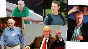 Mulliez, Buffett ou encore Zuckerberg. Des fortunes qui se comptent en dizaines de milliards et un train de vie d'une grande sobriété.