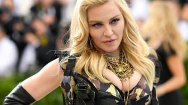 Madonna le 1er mai 2017 à New York