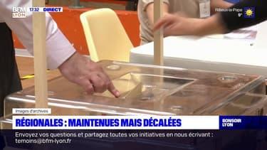 """Régionales décalées : """"totalement étrange"""""""