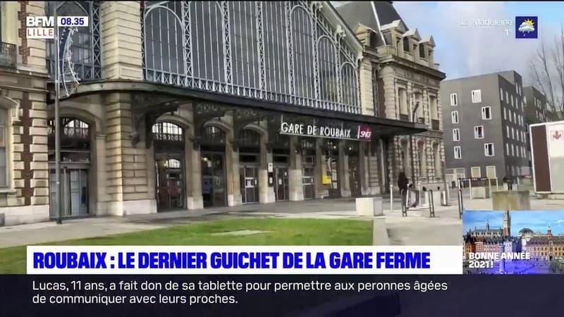 Roubaix: le dernier guichet de la gare a fermé