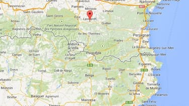 L'incendie s'est déclaré dans une petite ville proche de la frontière espagnole.