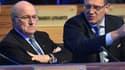 Sepp Blatter et Jérôme Valcke