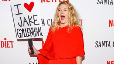 Drew Barrymore le 22 mars à l'avant-première de la saison 2 de sa série Netflix Santa Clarita Diet.