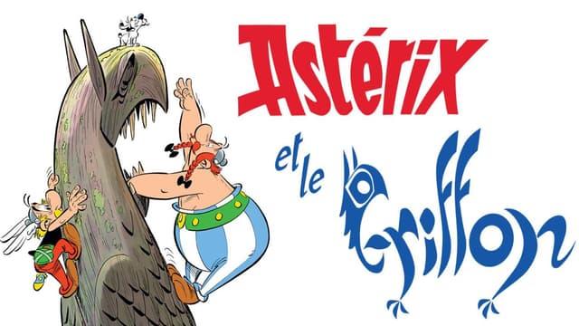 """""""Le Griffon"""", le 39e album des aventures d'Astérix et Obélix."""