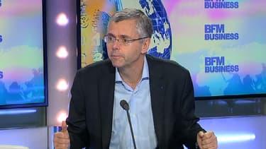 Le PDG d'Alcatel-Lucent, Michel Combes, donnait probablement à Stéphane Soumier sa dernière interview en tant que patron du groupe qui va se marier avec Nokia.