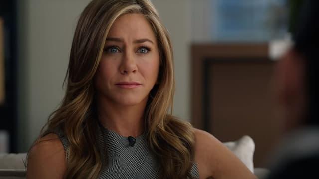 "Jenifer Aniston dans ""The Morning Show"" sur Apple TV+."