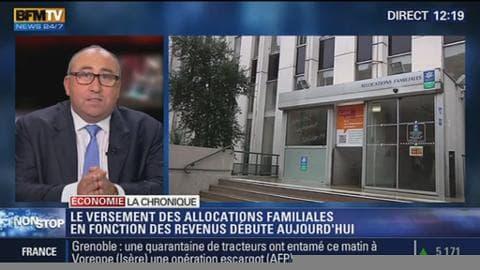 """Réforme des allocations familiales: """"C'est un des piliers du modèle français qu'on ébranle !"""""""