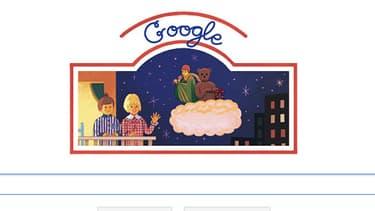 """Google a choisi de rendre hommage à """"Bonne nuit les petits"""", qui fête ses 50 ans mercredi."""