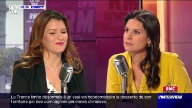 Marlène Schiappa face à Apolline de Malherbe en direct - 13/07