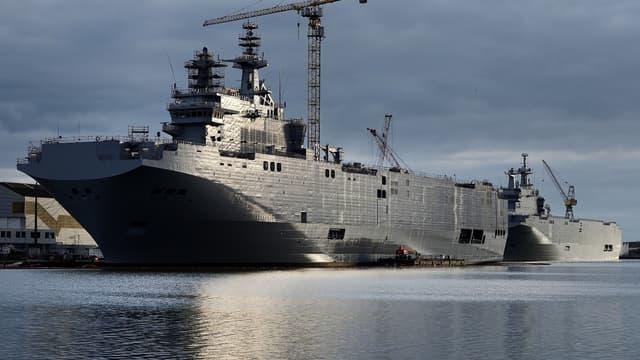 Les deux navires Mistral ont finalement été vendus à l'Égypte.