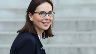 Amélie de Montchalin, secrétaire d'État aux Affaires européennes, le 1er avril 2019 à l'Élysée.