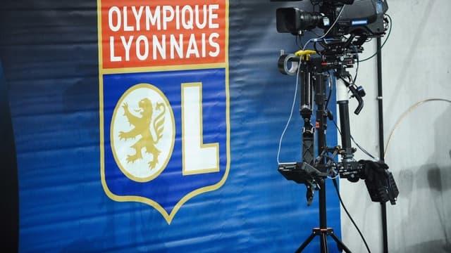 Logo de l'Olympique Lyonnais (illustration)