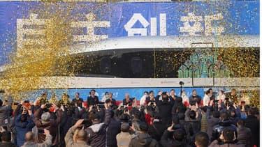 Le prototype du nouveau Maglev chinois