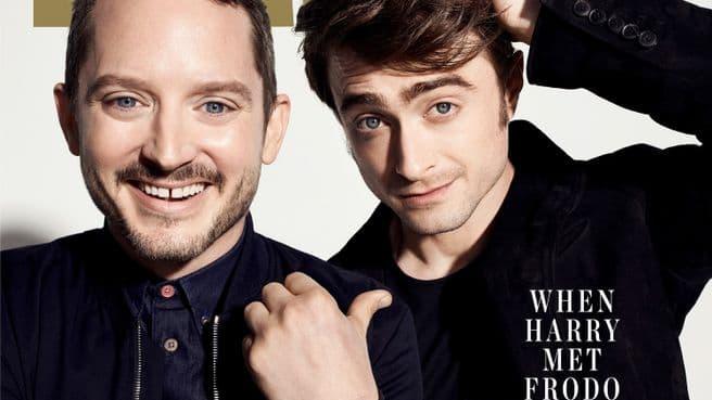 Elijah Wood et Daniel Radcliffe réunis pour la première fois en couverture du magazine