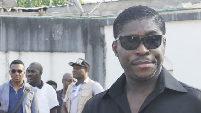 Teodorin Obiang, le fils du président de la Guinée-équatoriale, le 23 décembre 2014 à Malabo.