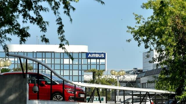 Les bâtiments du siège d'Airbus, à Blagnac, le 30 juin 2020