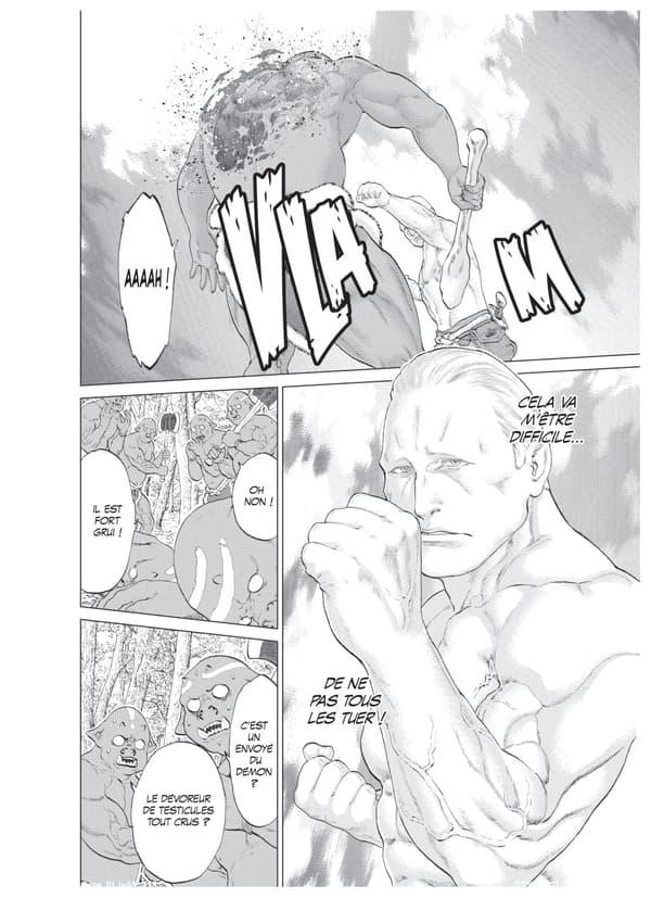 "Un extrait du manga ""The Ride-on King"""
