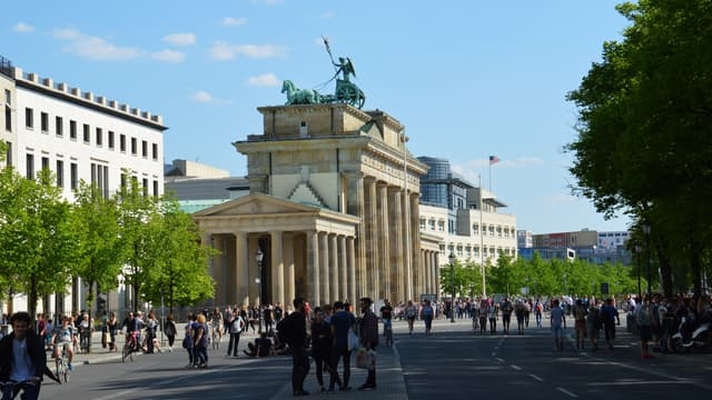Vue de Berlin, capitale la plus boisée d'Europe.