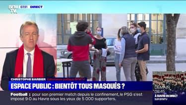 L'édito de Christophe Barbier: Espace public, bientôt tous masqués ? - 13/07